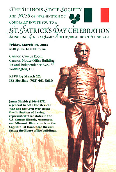 Illinois State Society St. Patrick's Day Party
