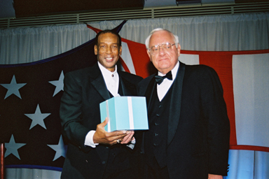Baseball Hall of Fame Member Ernie Banks