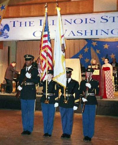 Illinois Army National Guard Color Guard
