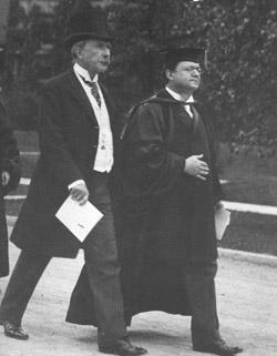 John D. Rockefeller at University of Chicago 1901