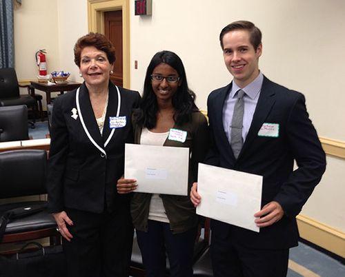 2013 Illinois State Society Intern Scholarship Winners