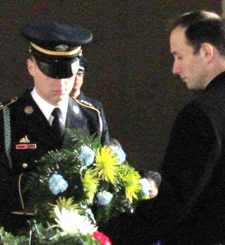 Sol Ross at Lincoln Memorial 2010