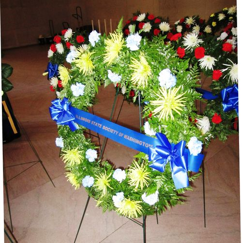 Lincoln Memorial Wreath 2012