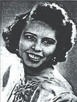 1950 Cherry Blossom Princess