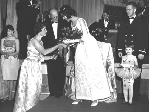 1963 Illinois Cherry Blossom Reception