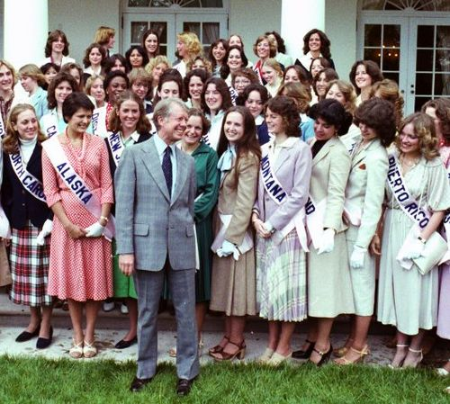 1979 Princess Sue Johnsen with President Carter