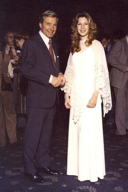1977 Sen. Charles Percy greets Princess
