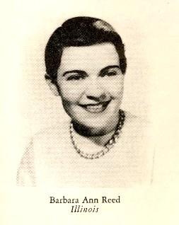 1956 Princess Barbara Ann Reed